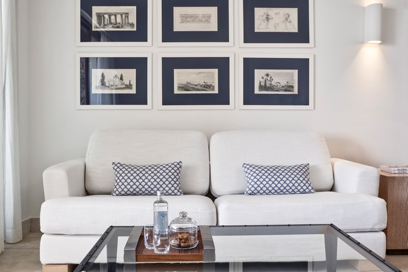 Blue Palace; a Luxury Collection Hotel-Junior Suite Living Area<br/>Image from Leonardo
