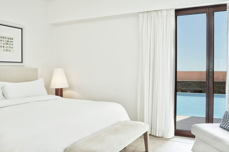 Blue Palace; a Luxury Collection Hotel-King Junior Suite Pool Bedroom<br/>Image from Leonardo