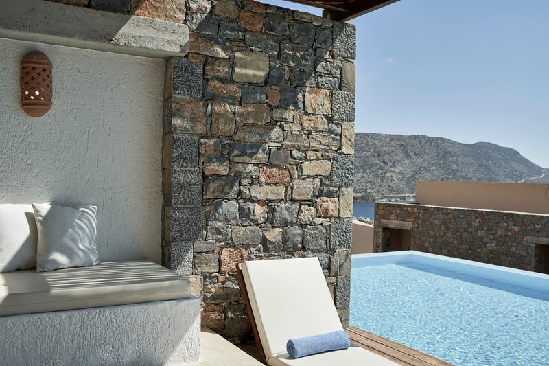 Blue Palace; a Luxury Collection Hotel-Junior Suite Pool Terrace & Pool<br/>Image from Leonardo
