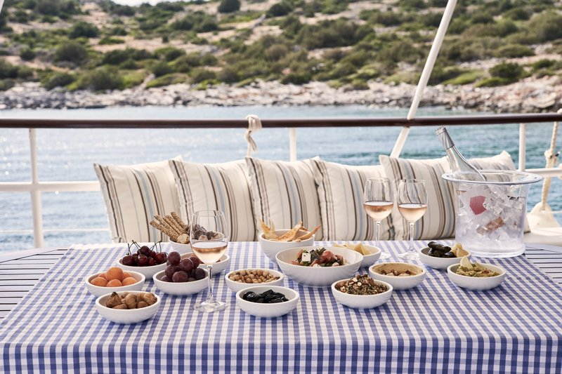Blue Palace; a Luxury Collection Hotel-Island Escape and Picnic Aboard the Traditional Caique<br/>Image from Leonardo