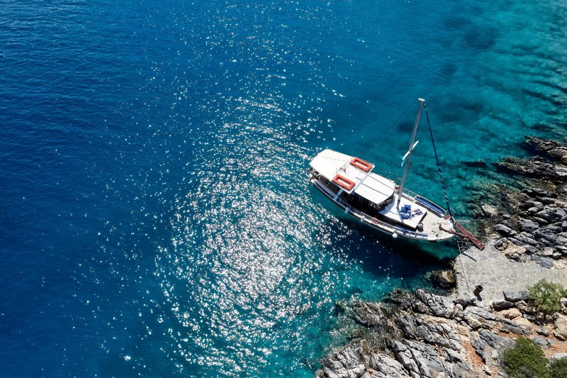 Blue Palace; a Luxury Collection Hotel-Caique Sailing & BBQ at Saint Fokas<br/>Image from Leonardo