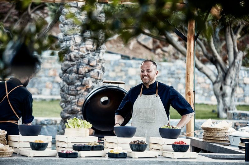 Blue Palace; a Luxury Collection Hotel-Isola Beach Club - Chef Alexandros Kiousambas<br/>Image from Leonardo