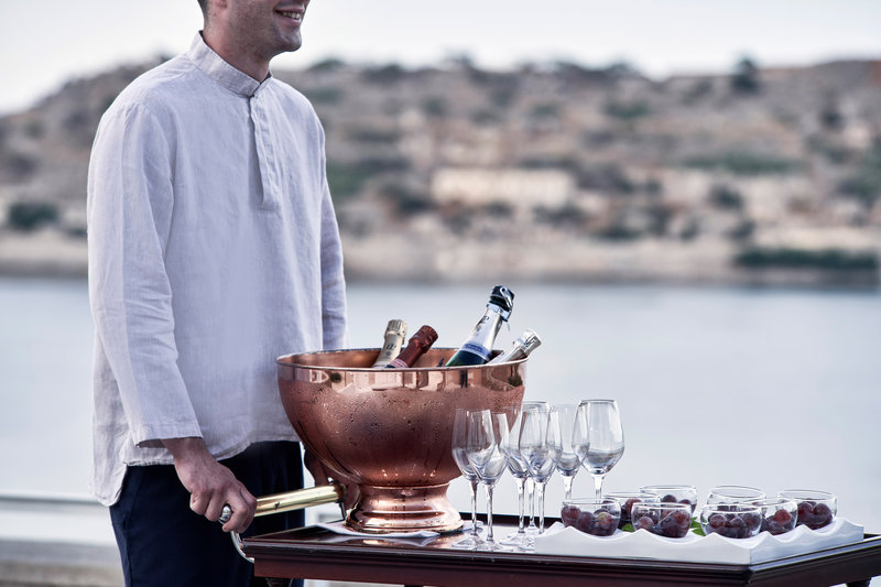Blue Palace; a Luxury Collection Hotel-Arsenali Lounge Bar - Champagne Evenings<br/>Image from Leonardo