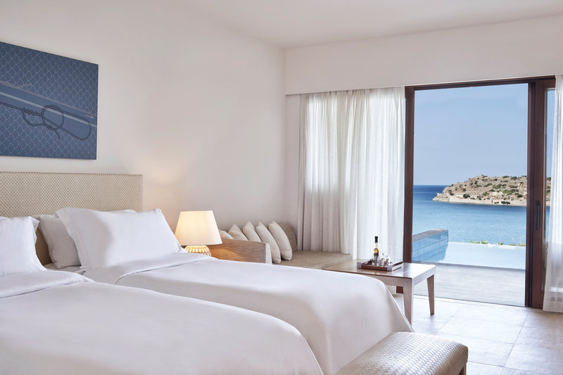 Blue Palace; a Luxury Collection Hotel-Twin/Twin Superior Bungalow Pool Guest Room<br/>Image from Leonardo