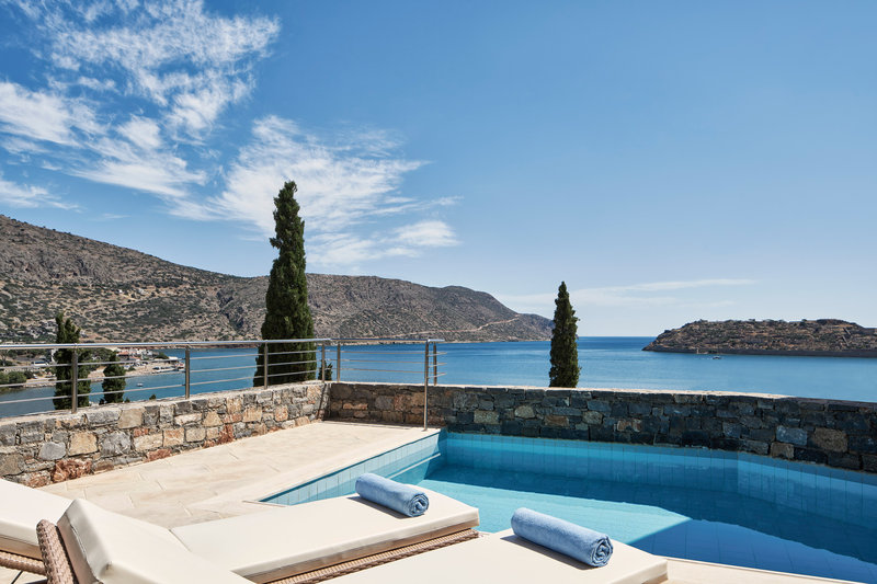 Blue Palace; a Luxury Collection Hotel-Superior Bungalow Pool Terrace Guest Room<br/>Image from Leonardo