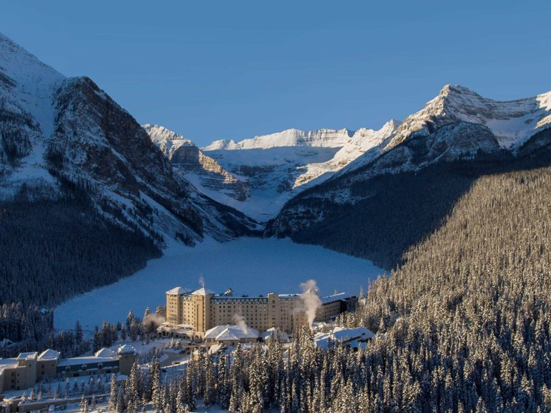 Fairmont Chateau Lake Louise-Exterior<br/>Image from Leonardo