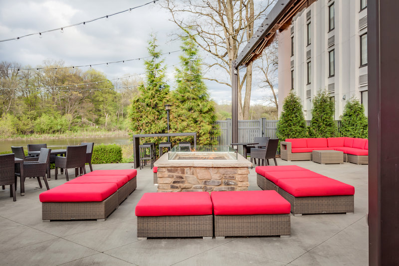 Holiday Inn Milwaukee Riverfront-The outdoor patio is the perfect place to relax or host an event!<br/>Image from Leonardo