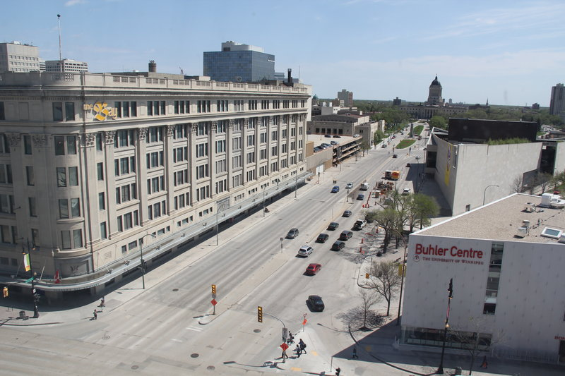 Holiday Inn Hotel & Suites Winnipeg-Downtown-View from Property<br/>Image from Leonardo