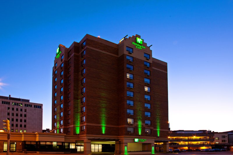 Holiday Inn Hotel & Suites Winnipeg-Downtown-Hotel Exterior--Holiday Inn Hotel & Suites Winnipeg Downtown<br/>Image from Leonardo