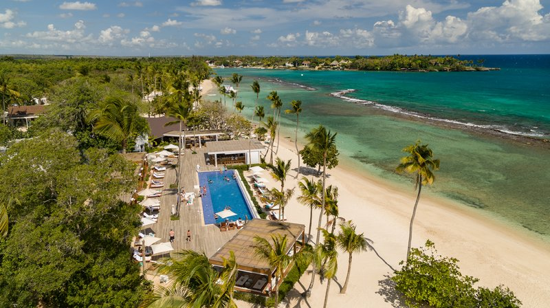 Casa De Campo - Beach Club and Minitas Beach <br/>Image from Leonardo