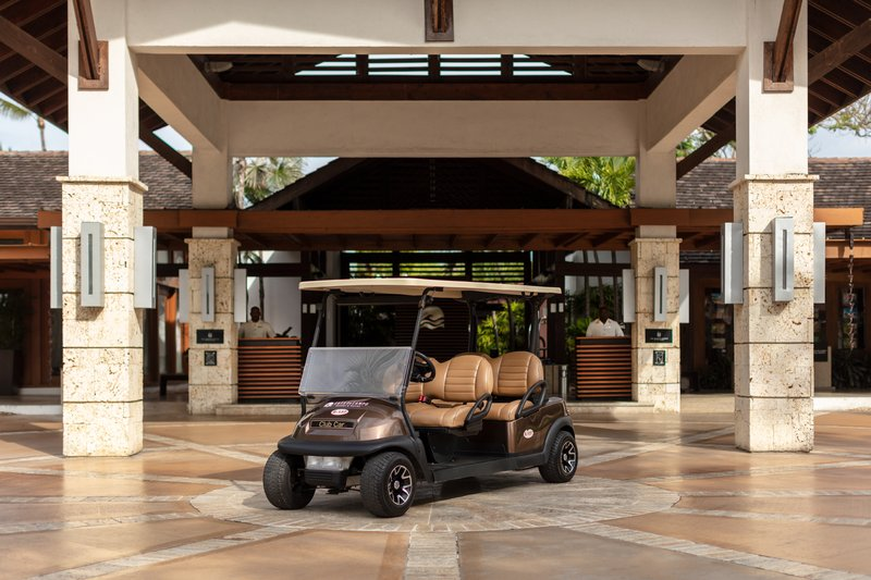 Casa De Campo - Complimentary golf carts for suites <br/>Image from Leonardo