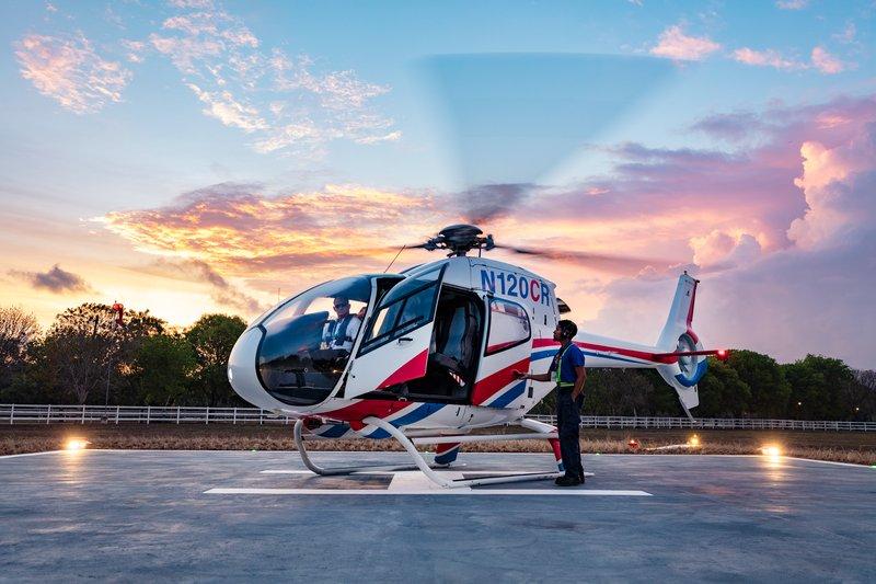 Casa De Campo - Helicopter service <br/>Image from Leonardo