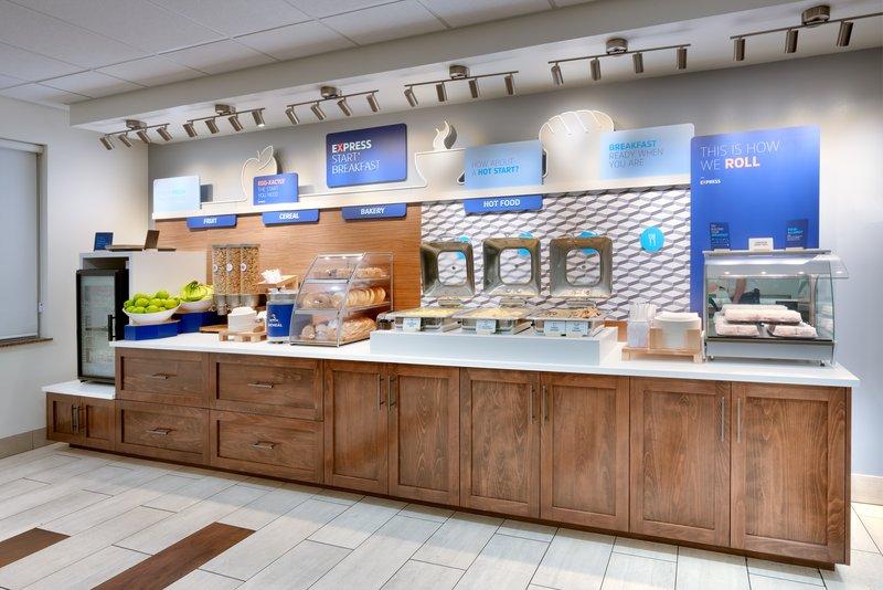 Holiday Inn Express & suites American Fork - North Provo-Breakfast Bar<br/>Image from Leonardo