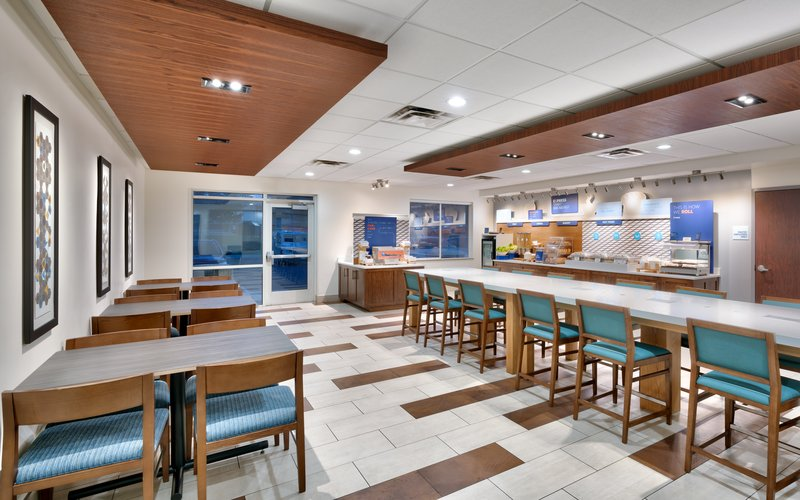 Holiday Inn Express & suites American Fork - North Provo-Breakfast Area<br/>Image from Leonardo
