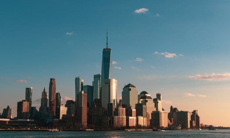 Candlewood Suites Jersey City-Check out the view of the World Trade Center from across the river<br/>Image from Leonardo