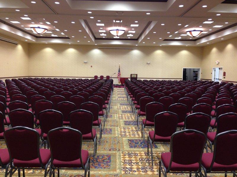 Holiday Inn Conference Center Marshfield-Ballroom - Theater set up<br/>Image from Leonardo