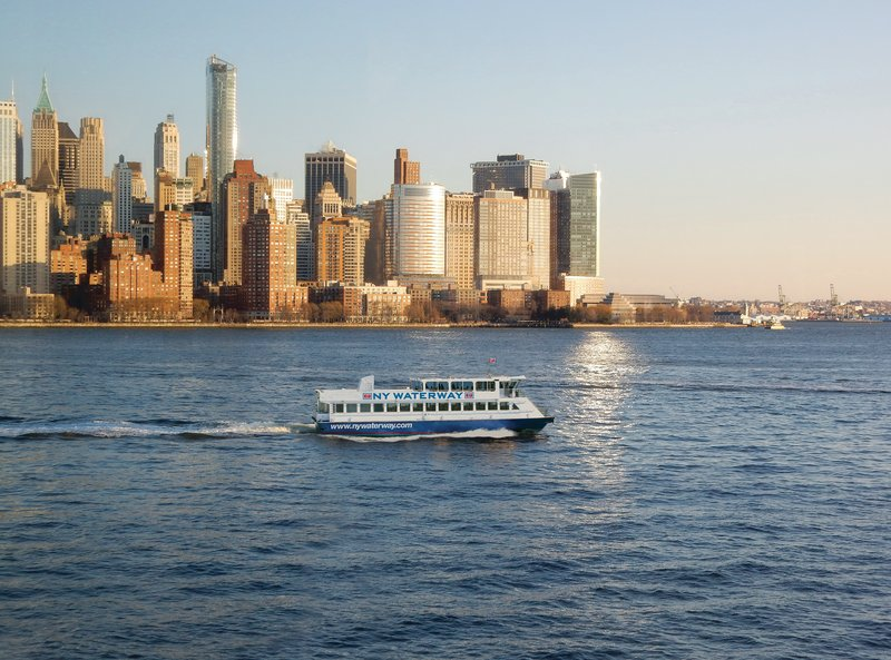 Candlewood Suites Jersey City-Take the NY Waterway into NYC and enjoy the Skyline View.<br/>Image from Leonardo