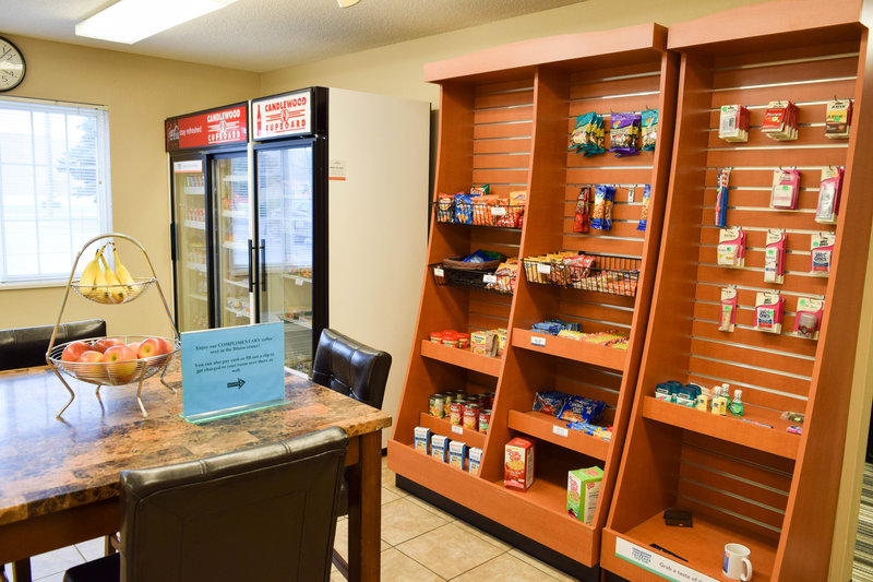 Candlewood Suites Wichita-Airport-Our in-house convenience store is packed with all kind of goodies!<br/>Image from Leonardo