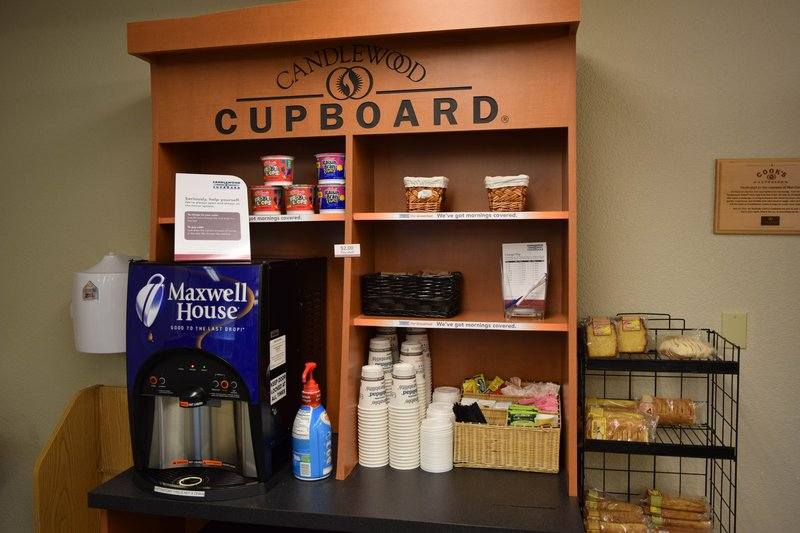 Candlewood Suites Wichita-Airport-Grab a complimentary cup of java 24/7!<br/>Image from Leonardo