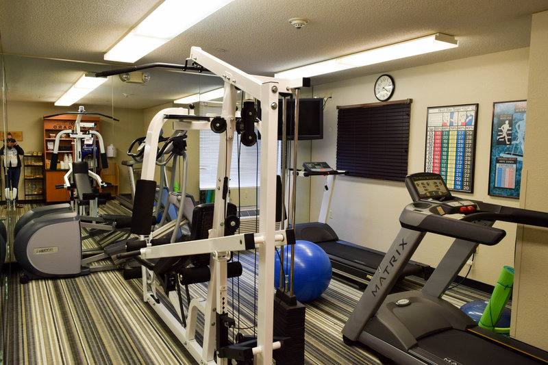 Candlewood Suites Wichita-Airport-Keep your fitness routine going even while you travel!<br/>Image from Leonardo