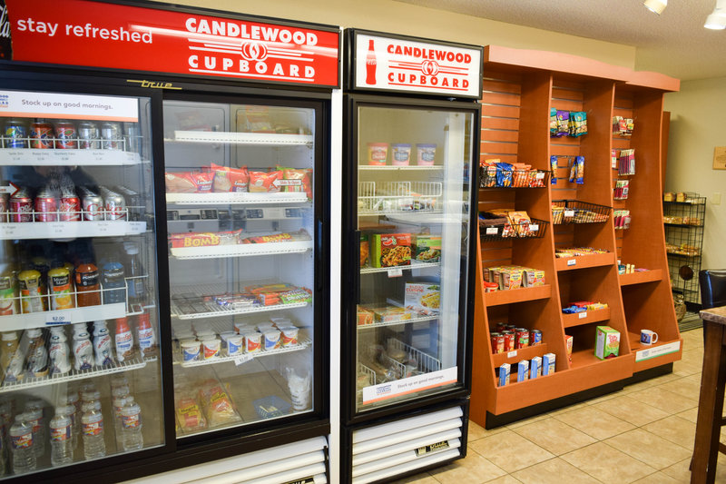 Candlewood Suites Wichita-Airport-In-house convenience store open 24/7 for your snack attacks!<br/>Image from Leonardo