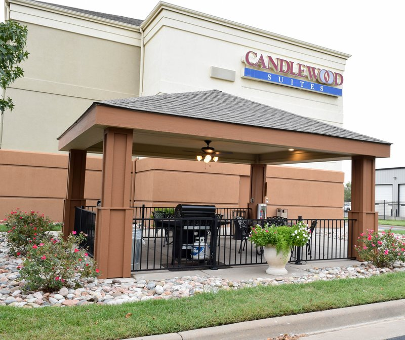 Candlewood Suites Wichita-Airport-Use our gazebo for grilling out or hanging out!<br/>Image from Leonardo