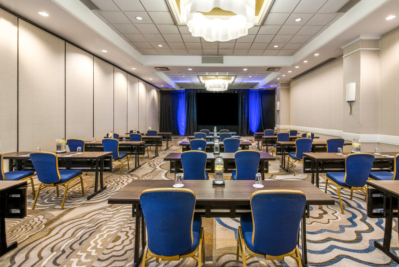 Crowne Plaza White Plains - Downtown-Our flexible ballroom is divisible into four sections.<br/>Image from Leonardo