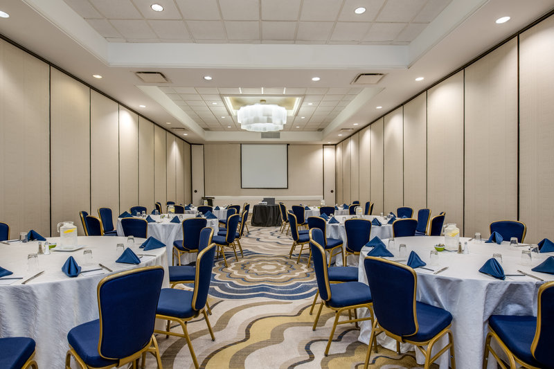 Crowne Plaza White Plains - Downtown-The Plaza Ballroom is divisible into four sections<br/>Image from Leonardo