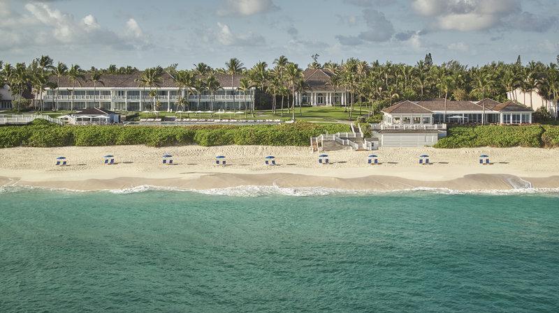 Ocean Club, A Four Seasons Resort, Bahamas-Aerial Resort View<br/>Image from Leonardo