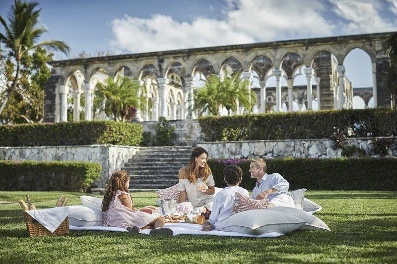 Ocean Club, A Four Seasons Resort, Bahamas-Family Picnic in Versailles Gardens<br/>Image from Leonardo
