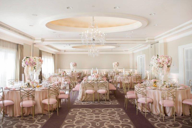 Ritz Carlton Laguna Niguel-Pavilion Wedding - Reception Setup<br/>Image from Leonardo