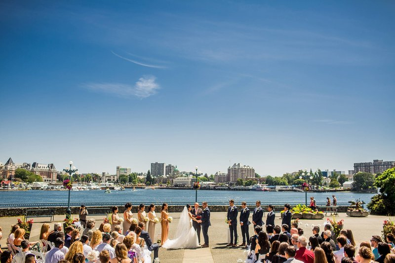 Delta Hotels by Marriott Victoria Ocean Point Resort-Waterfront Weddings<br/>Image from Leonardo