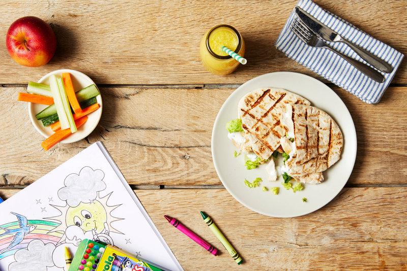 Marriott Cardiff Hotel-Market Kitchen - Kids Menu<br/>Image from Leonardo