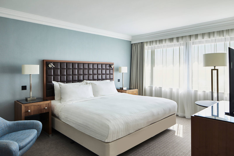 Marriott Portsmouth Hotel-Portchester Suite - Bedroom<br/>Image from Leonardo