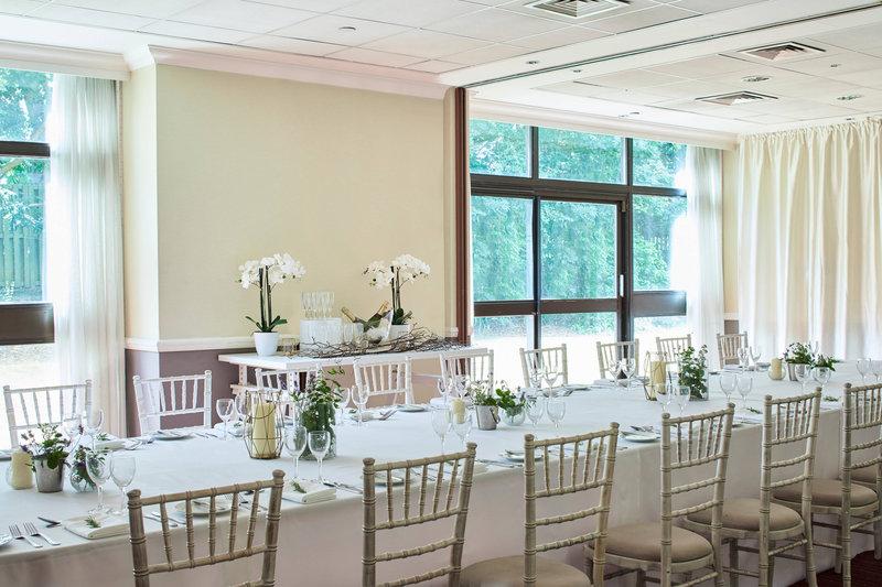 Marriott Portsmouth Hotel-Chichester Suite - Social Dinner Setup<br/>Image from Leonardo
