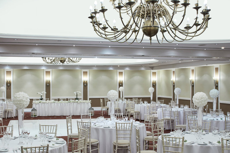 Marriott Portsmouth Hotel-Mary Rose Suite - Wedding Reception<br/>Image from Leonardo