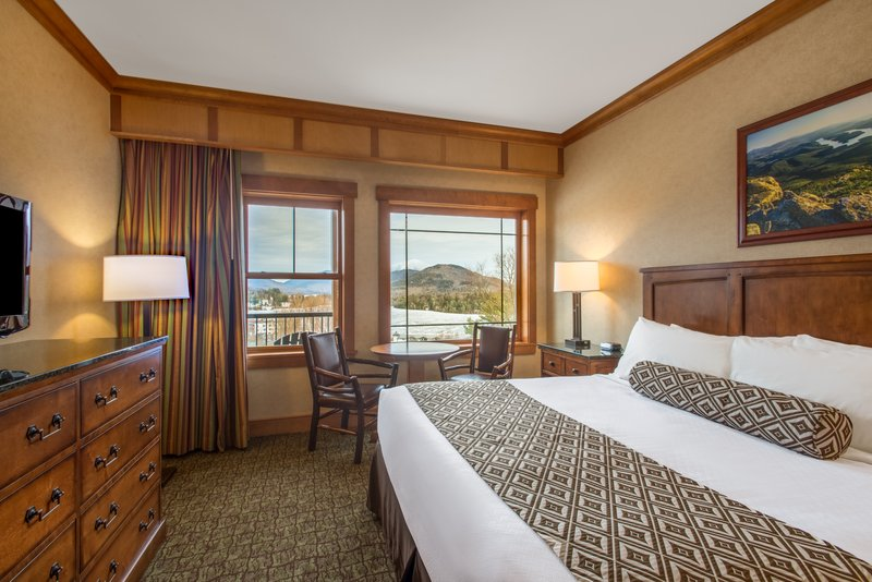 Crowne Plaza Lake Placid-Deluxe Suite King Guest Room ADA Accessible<br/>Image from Leonardo