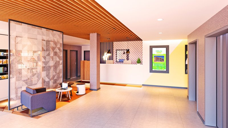 Holiday Inn Eindhoven Airport-Hotel Lobby & Front Desk<br/>Image from Leonardo