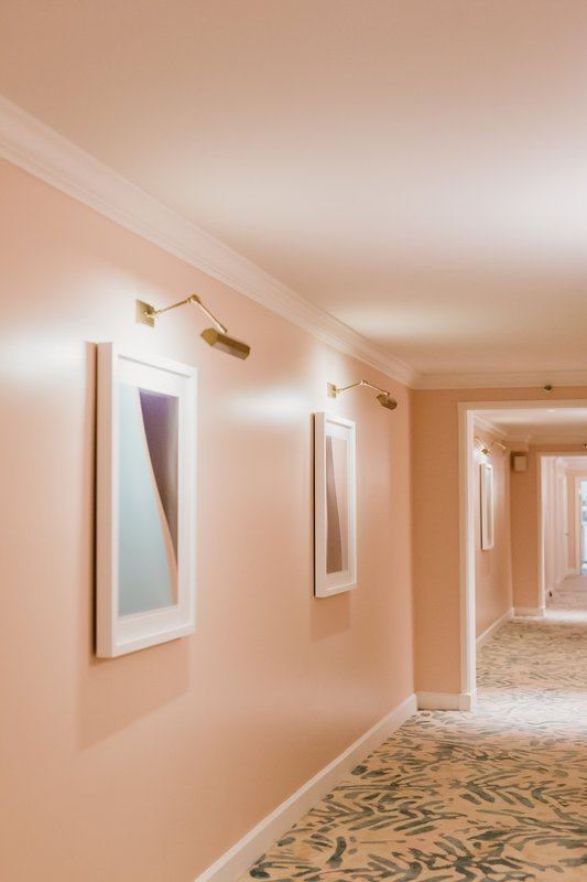 Four Seasons Resort Palm Beach-Guest Hallway Detail<br/>Image from Leonardo