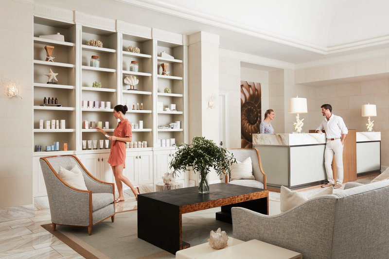 Four Seasons Resort Palm Beach-Spa Lobby<br/>Image from Leonardo