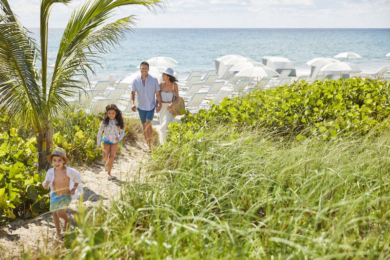 Four Seasons Resort Palm Beach-Beach Path<br/>Image from Leonardo