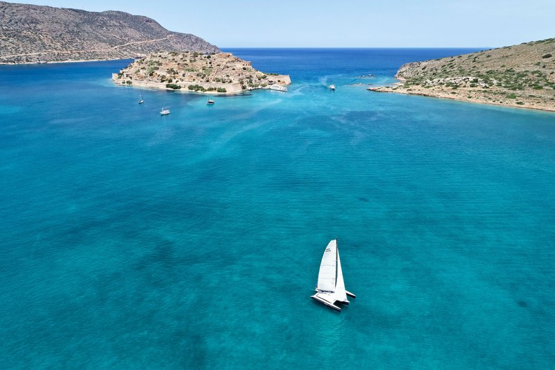 Blue Palace; a Luxury Collection Hotel-Sailing At Blue Palace's Beach<br/>Image from Leonardo