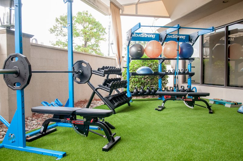 Crowne Plaza Executive Center Baton Rouge-A hotel fitness center for the workout enthusiast. <br/>Image from Leonardo