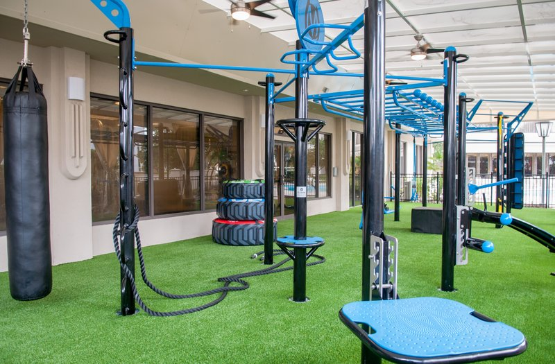 Crowne Plaza Executive Center Baton Rouge-Get in a workout at our state-of-the-art outdoor fitness center.<br/>Image from Leonardo