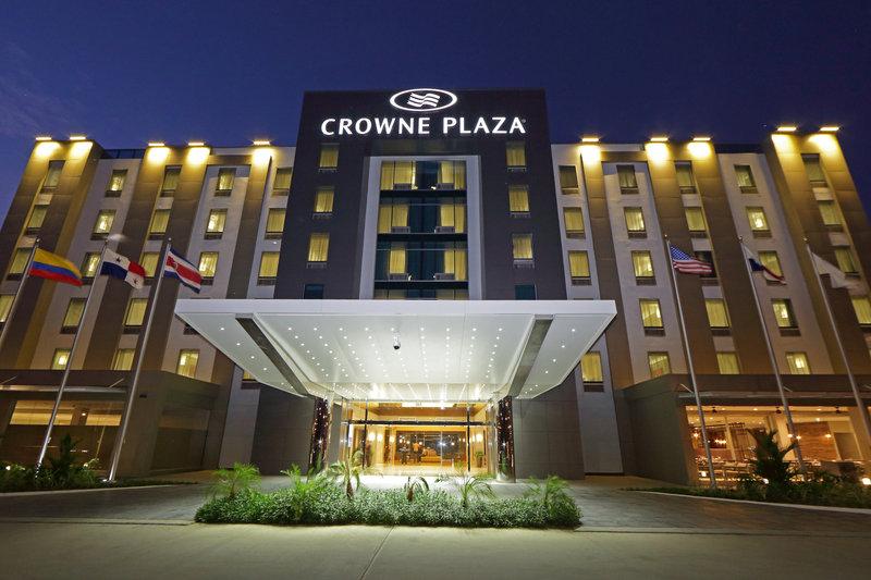Crowne Plaza Panama Airport-Panama Airport Hotel Entrance to Crowne Plaza Airport Panama<br/>Image from Leonardo