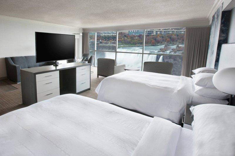 Marriott Niagara Falls on the Falls-Junior Queen/Queen Presidential Suite<br/>Image from Leonardo
