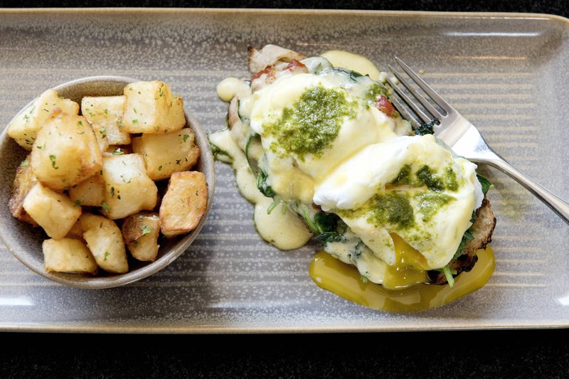 Delta Hotels by Marriott Victoria Ocean Point Resort-LURE Restaurant & Bar - Ocean Pointe Benedict<br/>Image from Leonardo