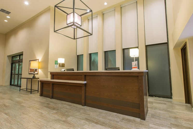 Holiday Inn Mt. Kisco-Reception Area in our Modern Hotel Lobby<br/>Image from Leonardo