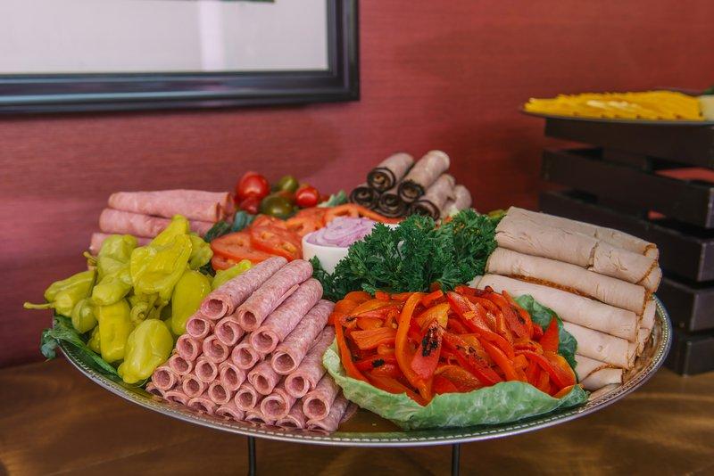 Holiday Inn Mt. Kisco-NY Deli Buffet<br/>Image from Leonardo