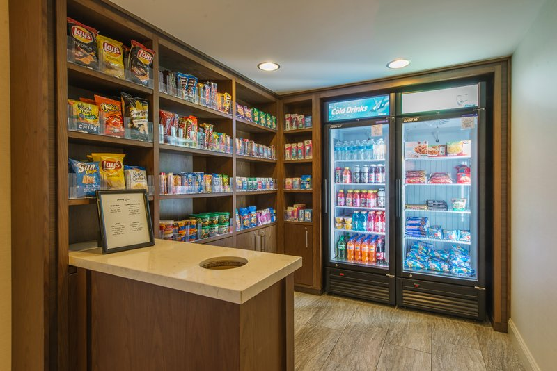 Holiday Inn Mt. Kisco-Pantry available for a variety of snacks and toiletries<br/>Image from Leonardo